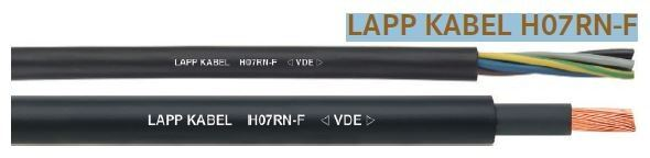 LAPP KABEL Harsh Conditions Rubber Cable  H07RN-F Lapp Kabel COPPER CABLE SOLUTIONS Malaysia, Selangor, Kuala Lumpur (KL), Seri Kembangan Supplier, Suppliers, Supply, Supplies | OH925