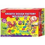 KIDS DOUGH FACTORY MOLDING SET IN PRINTED BOX