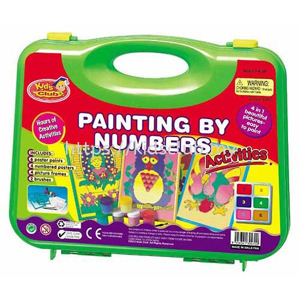 PAINTING BY NUMBER ACTIVITIES SMALL CARRY CASE Carry Case Malaysia, Selangor, Kuala Lumpur (KL), Balakong Supplier, Supply, Manufacturer, Wholesaler   SIRICH ENTERPRISE SDN BHD