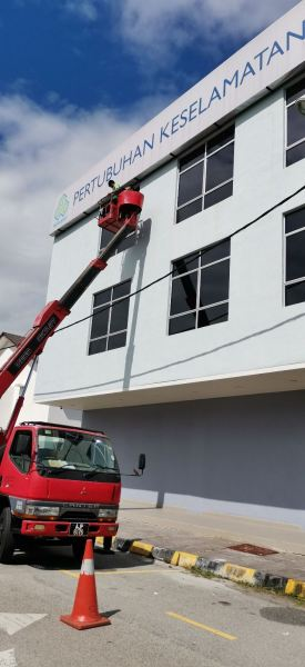 signage cleaning and windows cleaning High Risk Cleaning Selangor, Malaysia, Kuala Lumpur (KL), Ampang Service | SRS Group Enterprise