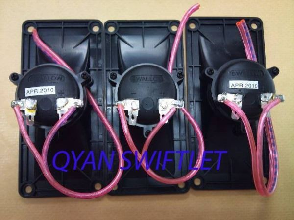 SWALLOW TWEETER WITH WIRE (C003) C- SWIFT HOUSE TWEETER,APOLO,SOUND ACCESSORIES Malaysia, Selangor, Kuala Lumpur (KL), Kuala Selangor Supplier, Suppliers, Supply, Supplies | QYAN SWIFTLET ENTERPRISE