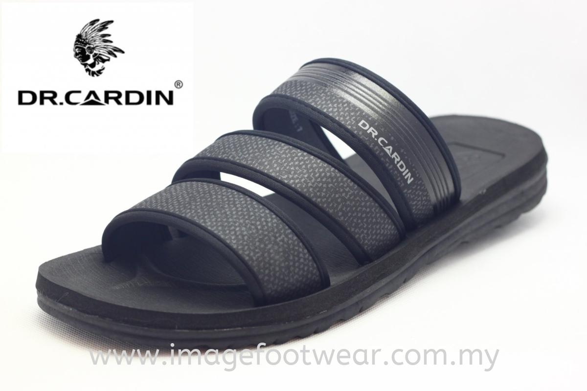 Dr. Cardin Men Slipper -DC-7691- BLACK Colour