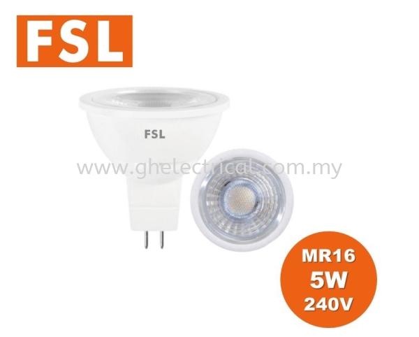 Fsl Mr16 Or Gu10 Series Led Bulb FSL LED Lighting Kuala Lumpur (KL), Malaysia Supply, Supplier | G&H Electrical Trading Sdn Bhd