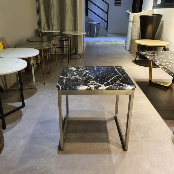 Square Marble Side Table - Marrone Marble Coffee Table CLEARANCE ITEM Selangor, Kuala Lumpur (KL), Malaysia Supplier, Suppliers, Supply, Supplies | DeCasa Marble Sdn Bhd