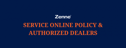 Zenne Online Service Policy & Authorized Dealers