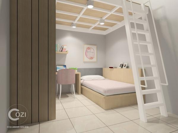 Interior Design and build- Terrace House Taman Serai Wangi, Padang Serai 3. Portfolio Penang, Malaysia, Butterworth Design, Renovation, Contractor, Services | Cozi Design Sdn Bhd