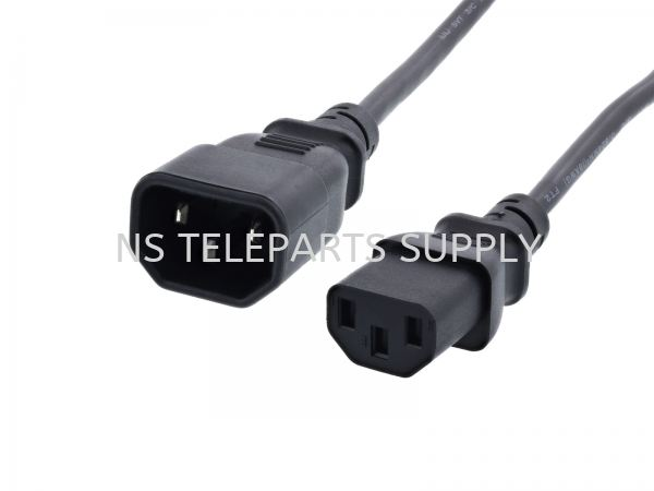POWER CORD MONITOR TO CPU 1.0MM 4.0 METER Power Cord Cable Products Seremban, Malaysia, Negeri Sembilan Supplier, Suppliers, Supply, Supplies | NS Teleparts Supply
