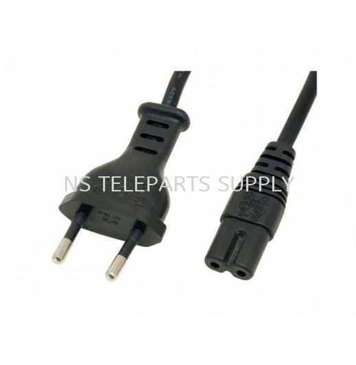 2 PIN POWER CORD TO NOTEBOOK 2 PIN 1.8 METER Power Cord Cable Products Seremban, Malaysia, Negeri Sembilan Supplier, Suppliers, Supply, Supplies   NS Teleparts Supply