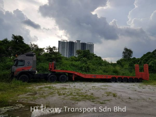 6 axle 10 width x 60 fleet, weight 40 ton Low Loader Heavy Transportation Service Selangor, Malaysia, Kuala Lumpur (KL), Puchong Supplier, Rental, Supply, Supplies | HT HEAVY TRANSPORT SDN BHD