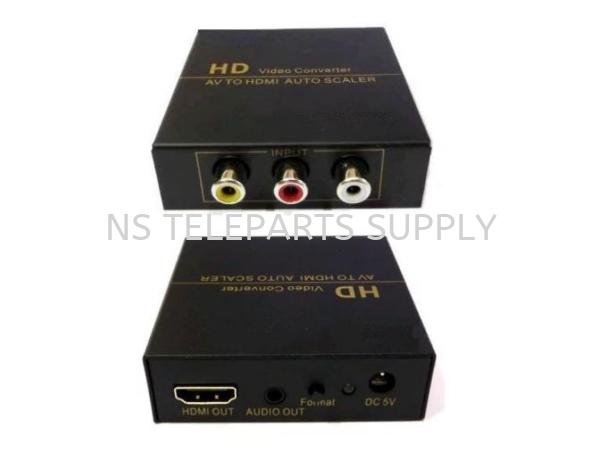 AV TO HDMI FJ-AH1308 Converter with Adapter Converter Seremban, Malaysia, Negeri Sembilan Supplier, Suppliers, Supply, Supplies | NS Teleparts Supply