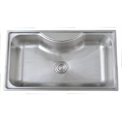 Felice FLSK 8050 Stainless Steel Single Bowl Felice Sink Kitchen Johor Bahru (JB), Malaysia, Kulai, Anggerik Emas Supplier, Suppliers, Supply, Supplies | Filken Enterprise