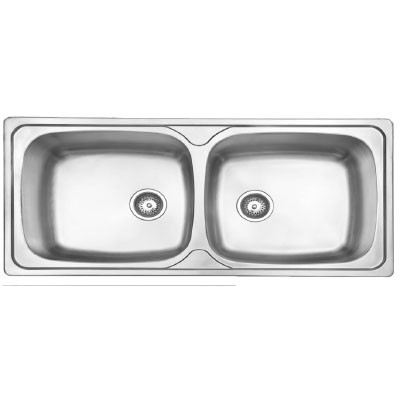 Felice FLSK 10650 Stainless Steel Double Bowl Felice Sink Kitchen Johor Bahru (JB), Malaysia, Kulai, Anggerik Emas Supplier, Suppliers, Supply, Supplies | Filken Enterprise