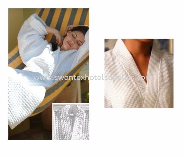 Waffle Bath Robe  Bathrobe Johor Bahru (JB), Malaysia Supplier, Suppliers, Supply, Supplies | Swantex Hotel Supplies