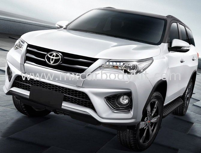 TOYOTA FORTUNER 2015 TRD SPORTIVO BUMPER SET  FORTUNER 2015 - 2018 TOYOTA Johor, Malaysia, Johor Bahru (JB), Masai. Supplier, Suppliers, Supply, Supplies | MX Car Body Kit