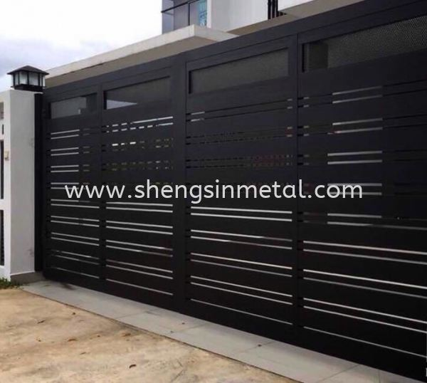 Gate Wrought Iron Johor Bahru, JB, Skudai, 仟表 Design, Installation, Supply | Sheng Sin Metal Work & Enterprise