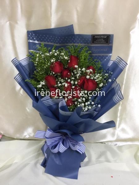 HB045 Hand Bouquet Taiping, Perak, Malaysia. Suppliers, Supplies, Supplier, Supply | Irene's Florists De Beaute