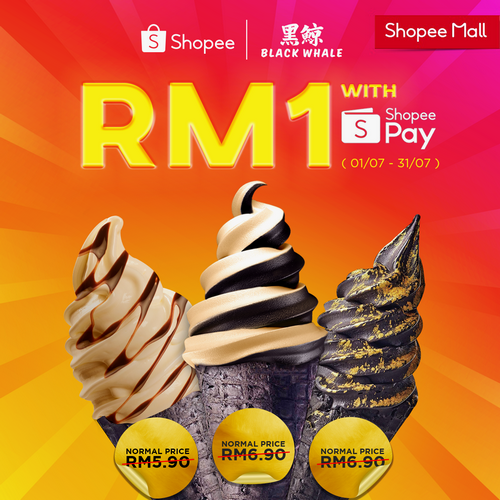 Ice Cream for only RM1 on July