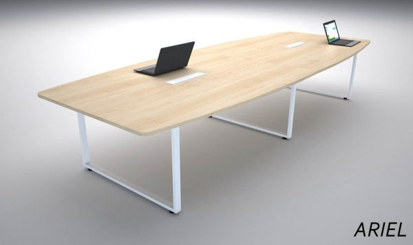 MEETING TABLE WITH SQUARE METAL LEG MEETING TABLE Malaysia, Selangor, Kuala Lumpur (KL), Semenyih Manufacturer, Supplier, Supply, Supplies | IOS Office Systems Sdn Bhd