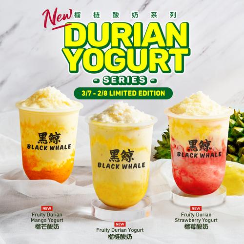 New Flavours Launch 每 Durian Yogurt Series