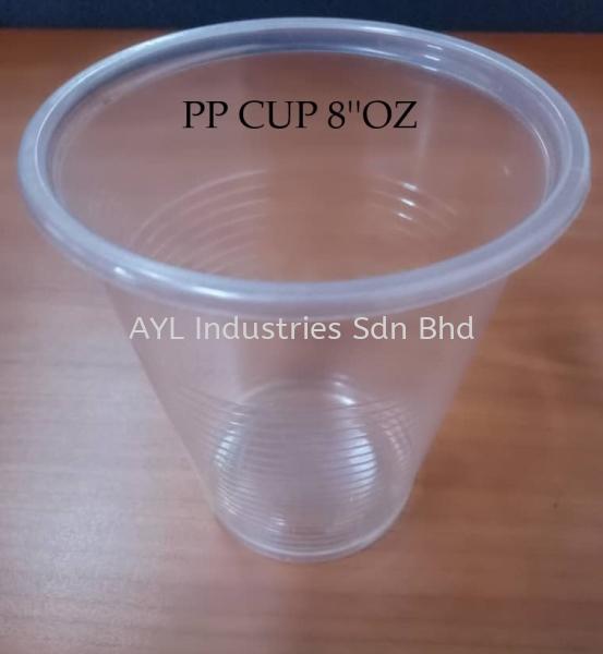 PP PLASTIC CUP 8'OZ PP PLASTIC CUP CUPS & LIDS Malaysia, Selangor, Kuala Lumpur (KL), Johor Bahru (JB), Pahang Supplier, Suppliers, Supply, Supplies   AYL Industries Sdn Bhd