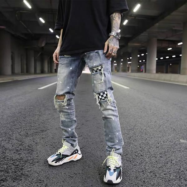 DC HYPE RIPPED JEANS 08 LONG RIPPED JEANS JEANS Malaysia, Johor, Muar Supplier, Suppliers, Supply, Supplies | DC CLOTHING & ACCESSORIES TRADING