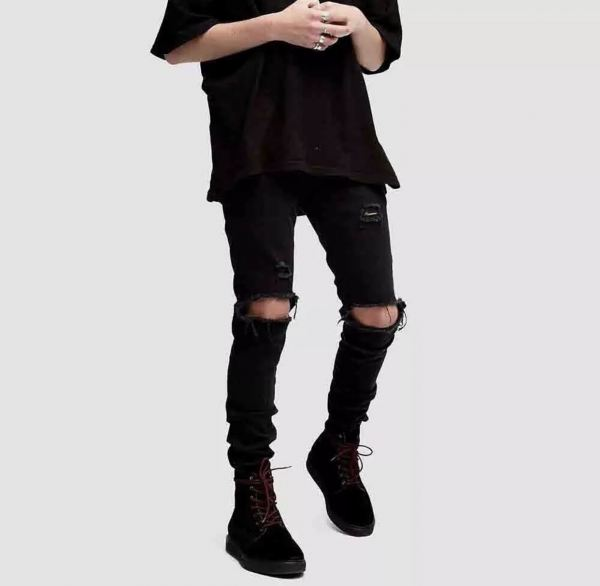 DC HYPE RIPPED JEANS 09 LONG RIPPED JEANS JEANS Malaysia, Johor, Muar Supplier, Suppliers, Supply, Supplies | DC CLOTHING & ACCESSORIES TRADING
