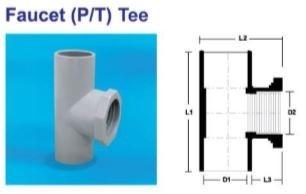 Faucet (P/T) Tee PVC PRODUCT Selangor, Malaysia, Kuala Lumpur (KL), Puchong Supplier, Suppliers, Supply, Supplies   MG HAUS SDN BHD