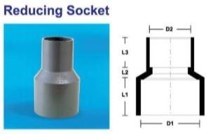 Reducing Socket PVC PRODUCT Selangor, Malaysia, Kuala Lumpur (KL), Puchong Supplier, Suppliers, Supply, Supplies | MG HAUS SDN BHD