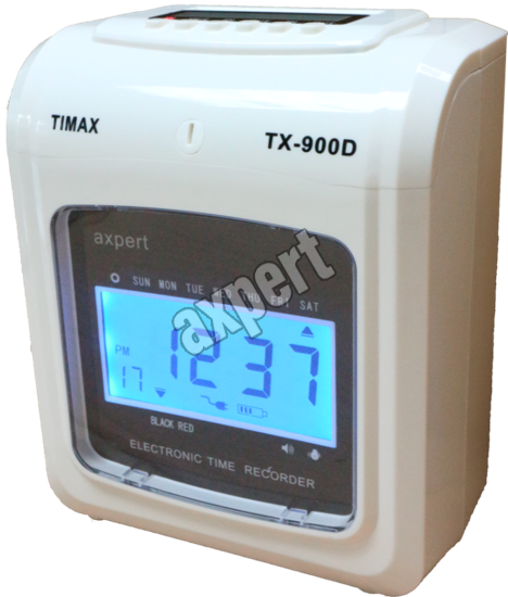 Electronic Time Recorder AXPERT Electronic Time Recorder Johor Bahru (JB), Malaysia Supplier, Supply, Supplies, Retailer | SH Communications & Technologies Sdn Bhd / S.H. MARKETING