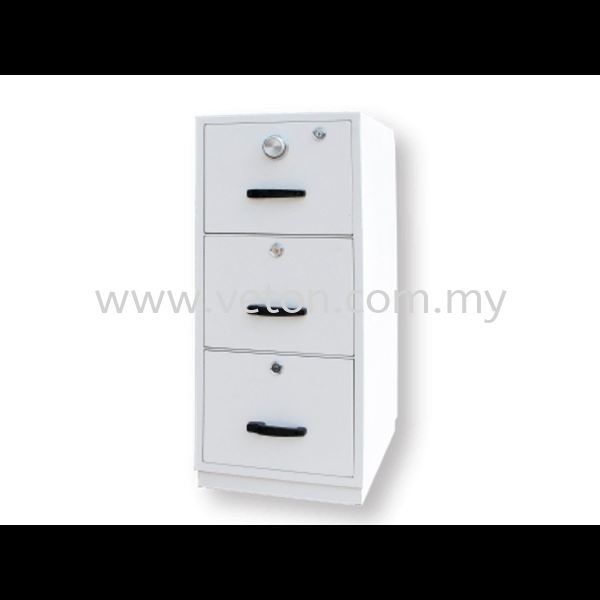 3 DRAWERS FIRE RESISTANT CABINET - INDIVIDUAL LOCKING SECURITY SAFE & FIRE RESISTANT CABINET OFFICE FURNITURE Selangor, Klang, Malaysia, Kuala Lumpur (KL) Supplier, Service, Supply, Supplies | Veton Office System Sdn Bhd