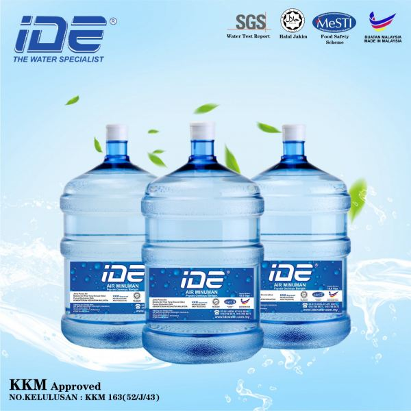 IDE 5 Gallon RO Bottle Water  Delivery RO Water Johor Bahru (JB), Malaysia Supply, Supplier & Wholesaler | Ideallex Sdn Bhd