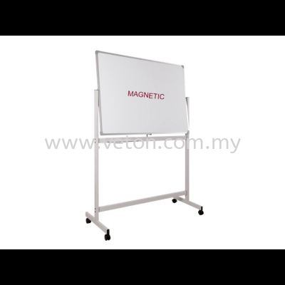 DOUBLE SIDE MAGNETIC WHITE BOARD WITH STAND
