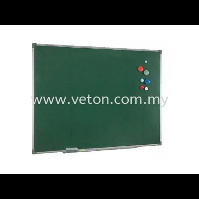 MAGNETIC CHALK BOARD WITH ALUMINIUM FRAME