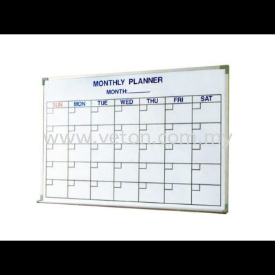 MONTHLY PLANNER CHART BOARD