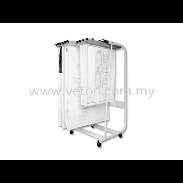 PLAN HANGERS STAND (FRONT LOADING) ARCHITECTURE TOOLS OFFICE EQUIPMENT OFFICE FURNITURE Selangor, Klang, Malaysia, Kuala Lumpur (KL) Supplier, Service, Supply, Supplies | Veton Office System Sdn Bhd