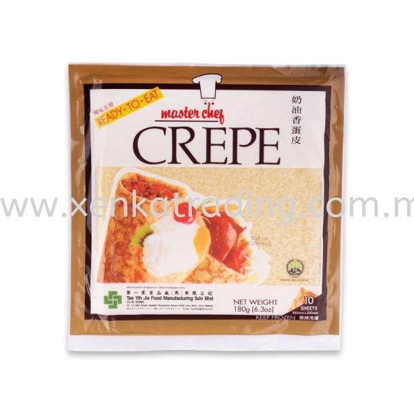 XK699 Crepe Pastry (Egg Skin) - (Halal) Frozen Products Selangor, Malaysia, Kuala Lumpur (KL), Puchong Supplier, Suppliers, Supply, Supplies | Xenka Trading (M) Sdn Bhd