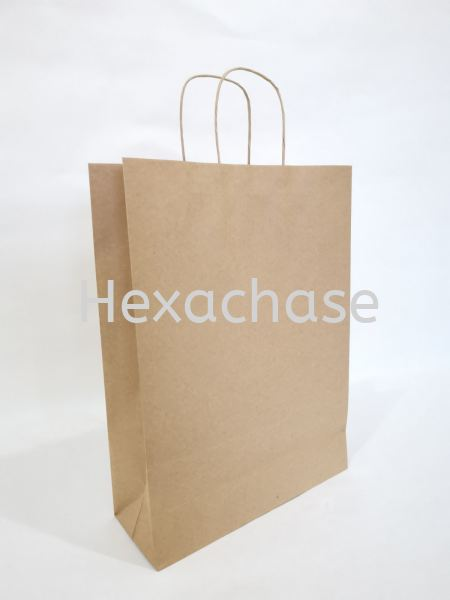 Twisted Handle Bag Twisted Handle Malaysia, Melaka Manufacturer, Supplier, Supply, Supplies | HEXACHASE PACKAGING SDN BHD