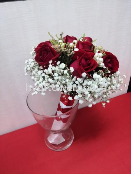 Wedding Roses Bouquet Others Johor Bahru (JB), Malaysia, Ulu Tiram Supplier, Suppliers, Supply, Supplies   HV A Flower House