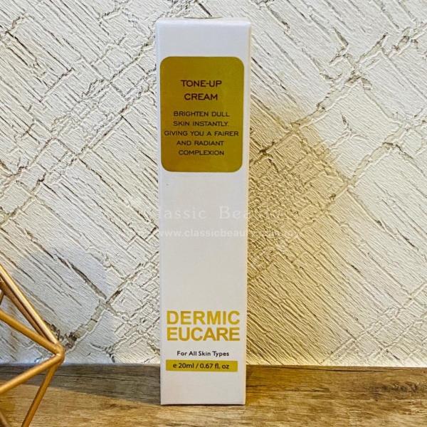 Tone-up Cream Sunscreen & Concealer Dermic Eucare Facial Care Kuala Lumpur (KL), Malaysia, Selangor, Bandar Menjalara Centre, Treatment, Salon, Services | Classic Beauty Studio