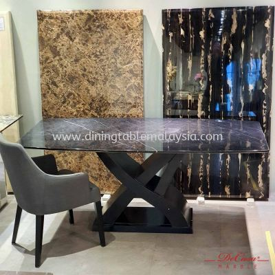 Black Marquina | Spain | 6 seaters | Table only | RM2,999