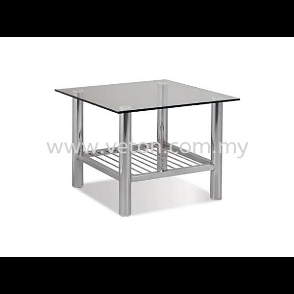 SQUARE TEMPERED GLASS COFFEE TABLE COFFEE TABLE OFFICE SOFA & COFFEE TABLE OFFICE FURNITURE Selangor, Klang, Malaysia, Kuala Lumpur (KL) Supplier, Service, Supply, Supplies | Veton Office System Sdn Bhd