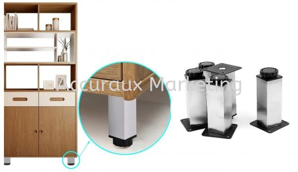 Adjustable Leg Kitchen / Cabinet Leg 08. SUPPORT & CONNECTING Selangor, Malaysia, Kuala Lumpur (KL), Sungai Buloh Supplier, Distributor, Supply, Supplies | Accuraux Marketing Sdn Bhd