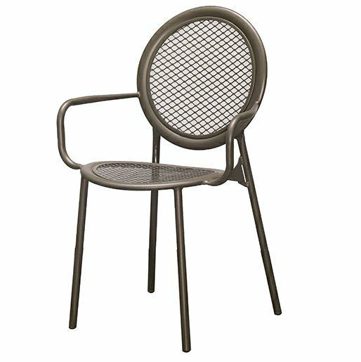 Outdoor Steel Chair - Sandy Coffee Outdoor Chairs And Tables OUTDOOR Penang, Malaysia, Simpang Ampat Supplier, Suppliers, Supply, Supplies | Sweet Home BM Enterprise