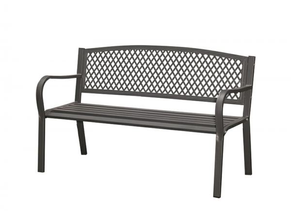 Outdoor Steel Bench - Cool Grey Outdoor Chairs And Tables OUTDOOR Penang, Malaysia, Simpang Ampat Supplier, Suppliers, Supply, Supplies | Sweet Home BM Enterprise