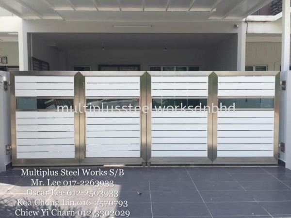 House Auto Gate House Auto Gate Selangor, Malaysia, Kuala Lumpur (KL), Klang Supplier, Suppliers, Supply, Supplies | Multiplus Steel Works Sdn Bhd