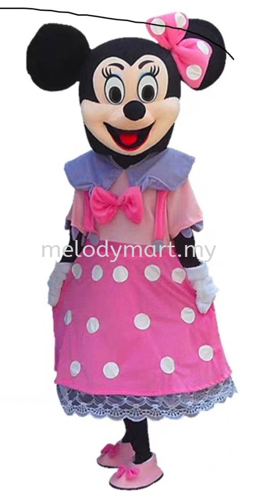 Minnie Mascot - Pink