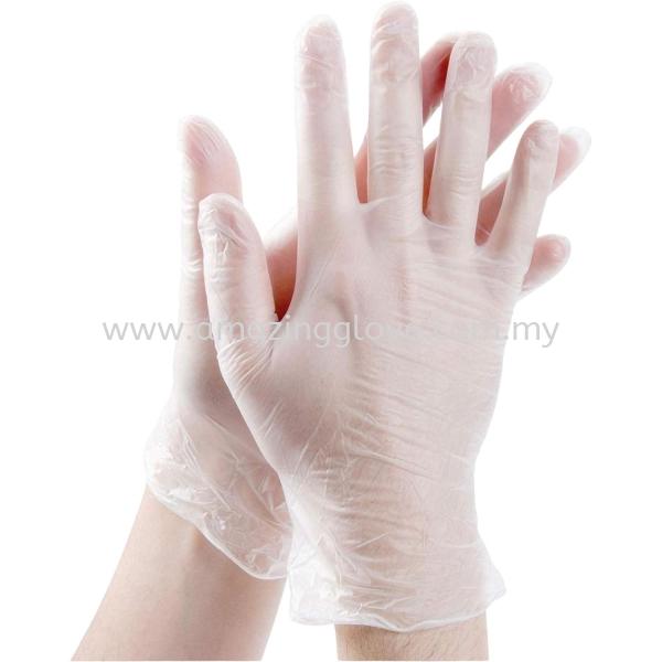 Large Vinyl Glove Vinyl Glove Malaysia, Selangor, Kuala Lumpur (KL), Shah Alam Supplier, Suppliers, Supply, Supplies | Amazing Glove Sdn Bhd