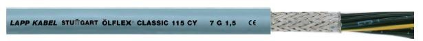 LAPP Screened PVC control cable with small outer diameter ÖLFLEX® CLASSIC 115 CY Lapp Kabel COPPER CABLE SOLUTIONS Malaysia, Selangor, Kuala Lumpur (KL), Seri Kembangan Supplier, Suppliers, Supply, Supplies | OH925