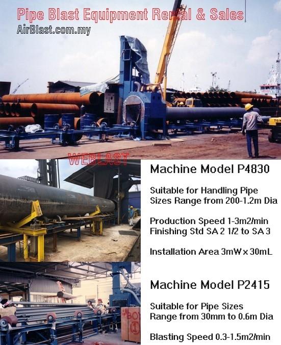 Skew-Roll Machine at a Project Site EQUIPMENT SALES & RENTAL Malaysia, Negeri Sembilan, Nilai Manufacturer, Supplier, Supply, Supplies   AirBlast (M) Sdn Bhd