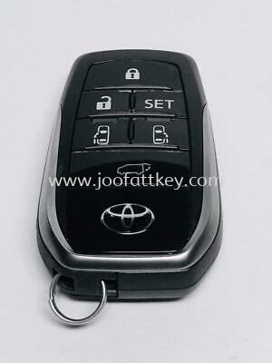 Vellfire Smartkey ASIA - TOYOTA CAR KEY (Immobilizer key, Transponder key, Smart key) JB Johor Bahru Malaysia Supply, Suppliers, Sales, Services   Joo Fatt Key Service